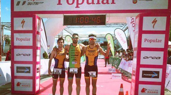 ALG Fisio apoyando el XXI Triatlón de Tres Cantos